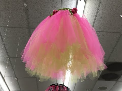 How To Make a Tutu with Tulle