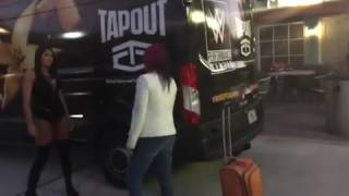 NXT Billie Kay and Payton Royce attack Asuka
