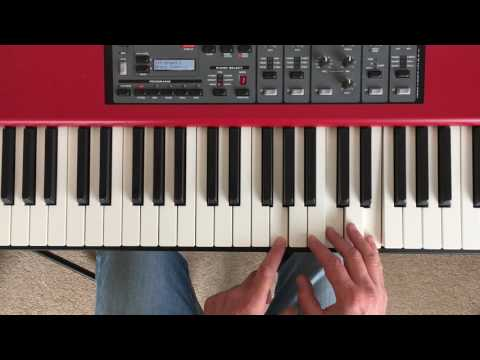 Chord voicings and inversions explained on the piano
