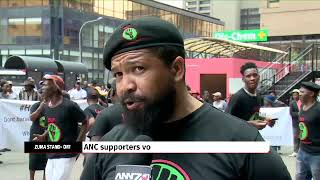 Clashes break out outside Luthuli House