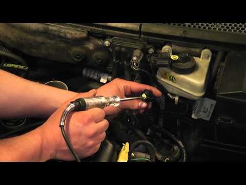 2000 Ford Focus EGR System Tests (EGR, DPFE, EVR) - P1409