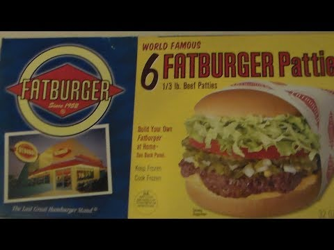 Fat Burger Frozen Patties || Over50andFantabulous