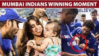 IPL 2019 FINAL : MUMBAI INDIANS CELEBRATION VIDEO..  LittleTalks