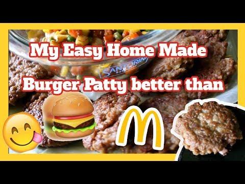 How to a  make Krabby Patty Burger