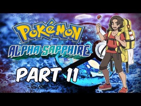 Pokemon Alpha Sapphire [Part 11] Mt. Chimney - Nintendo 3DS (Gameplay, Commentary)