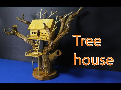 awesome tree house!! amazing miniature tree house tutorial you should know  | crazyMCH