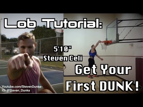 How to throw a Lob to get your First DUNK! (5'10