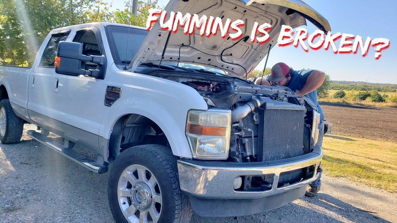 Our F350 Cummins is Broken + Project Update