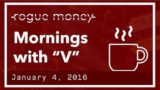 """Mornings with """"V"""" & CJ - Not Out Of The Woods  (01/04/2017)"""