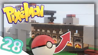 Building an Automatic Pokeball Factory! | Pixelmon