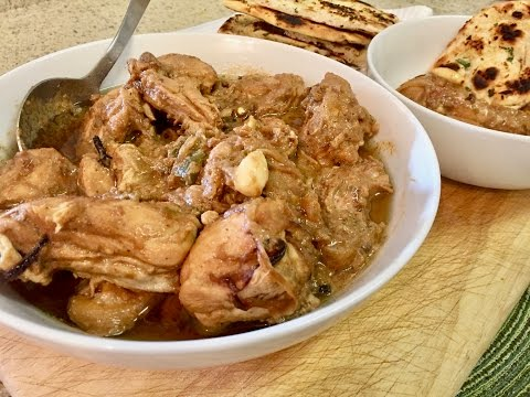 Chicken White Korma - Using Shan Mix