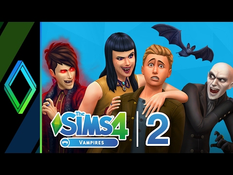 The Sims 4 Vampires Let's Play - Part 2