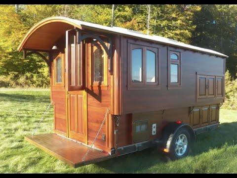 Building the Modern Vardo ( Gypsy Wagon)