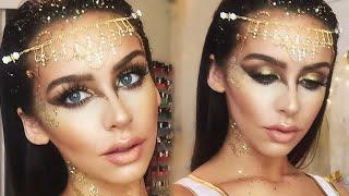 Golden Goddess Halloween Makeup Tutorial