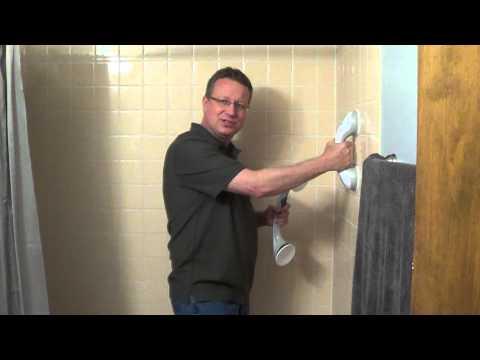 Suction Cup Grab Bars - Shower Grab Bars - Grab Bars