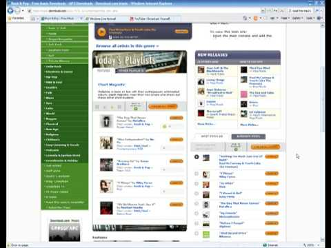 How To Legally Download Free mp3's (Music Files)