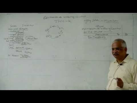 Estimation Of working Capital By Prof Vijay satra