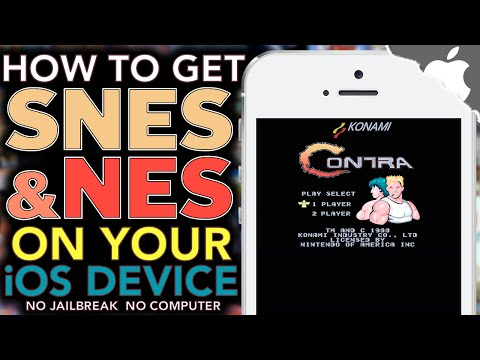 How To Get SUPER NINTENDO & NES on your iOS Device! 9.0.2 & ↓ (NO JAILBREAK) iPhone iPad iPod Touch