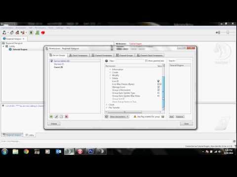 Adding Teamspeak 3 Icons to Server Groups and Clients | TutorialRegion