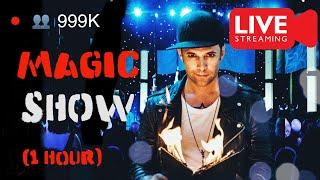 1 Hour MAGIC SHOW FROM HOME - Julien Magic