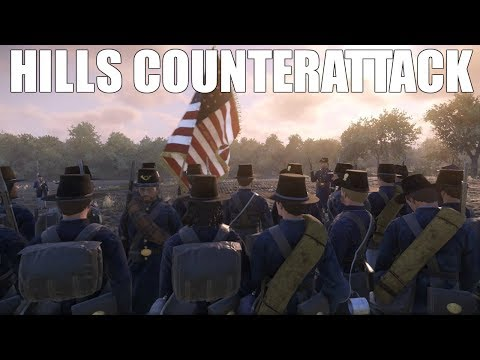 HILL'S COUNTERATTACK - War of Rights (Reuploaded)