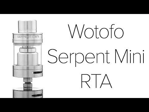 Wotofo Serpent Mini RTA Review