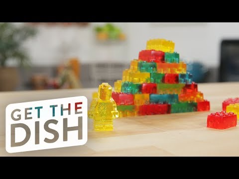 LEGO Jell-O Gummies | Get the Dish
