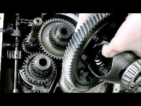 Inside MINI Cooper Transmission & Differential R53 Getrag Six Speed Manual
