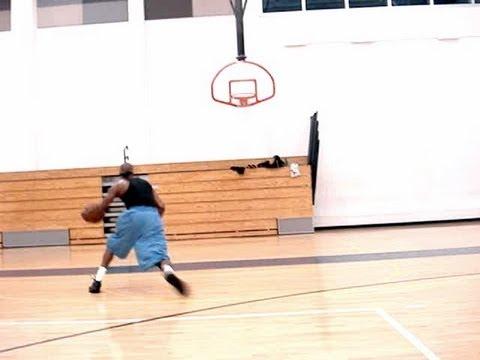 Creative NBA Scoring Moves - One-Hand-Under Scissor Cross-Eurostep Left-Hand Finish | Dre Baldwin