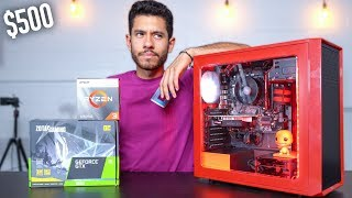 $500 Gaming PC Build - GTX 1650 Ryzen 3 3200G (w/ Benchmarks)