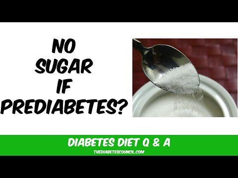 Will I Have To Stop Eating Sugar If I Have Prediabetes