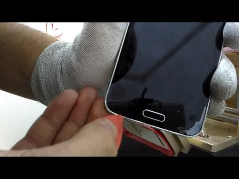 Samsung Galaxy S5 G900F Disassembly lcd take off how to tutorial