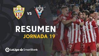 Resumen de UD Almería vs CD Mirandés (3-1)