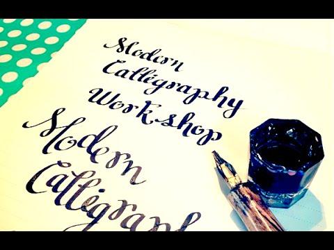 Free Modern Calligraphy Workshop