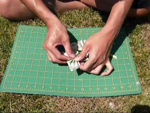 How To Make Butterfly Money Lei: 2 versions