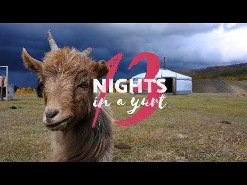 Mongolian Yurt - Sleeping 13 nights in a Ger camp