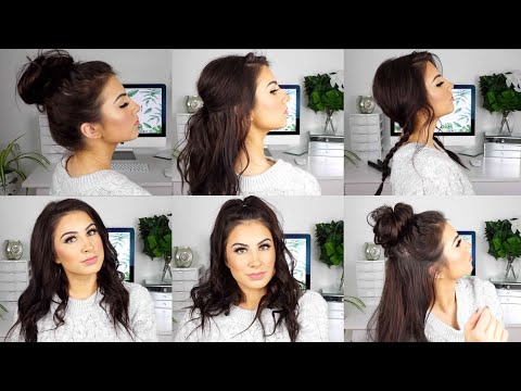 CUTE AND EASY HAIRSTYLES for MEDIUM THIN HAIR