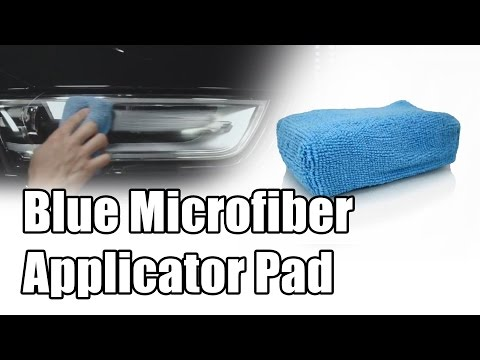 Blue Workhorse Microfiber Applicator Pad - Chemical Guys Car Care