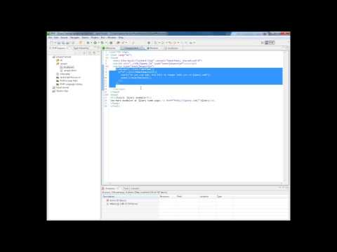 Developing in Zend Studio Using jQuery Support