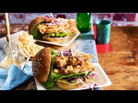 Buttermilk Fried Chicken Burger