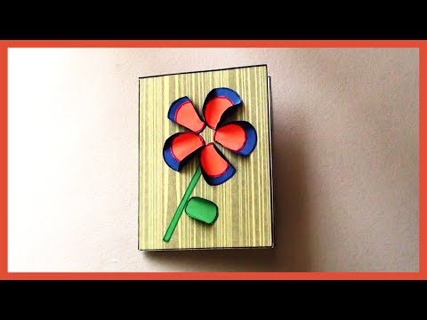 Easy & Simple Greeting Paper Card for Kids | Kids Paper Crafts School Project Ideas