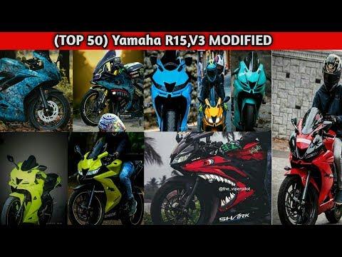 Top 5 modified YAMAHA R15 V3