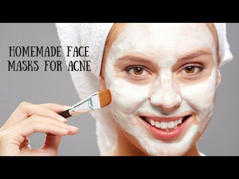 Top 3 DIY Homemade Acne Face Masks/// Get Glowy & Acne Free Skin!