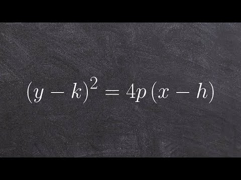 Learn how to write the equation of a parabola given the vertex and  point