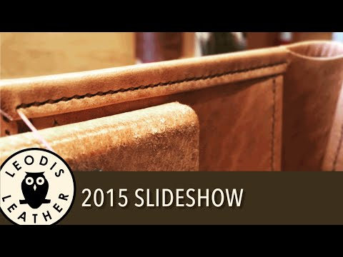 Leodis Leather 2015 slideshow
