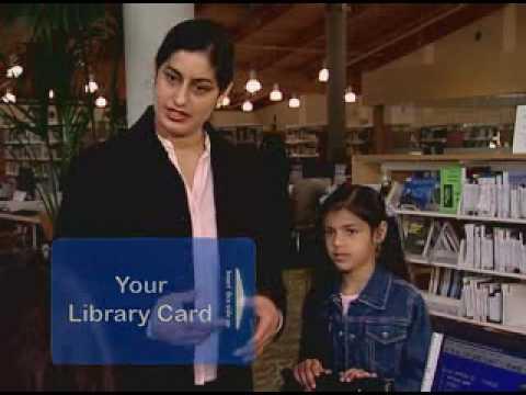 Library Card Arabic