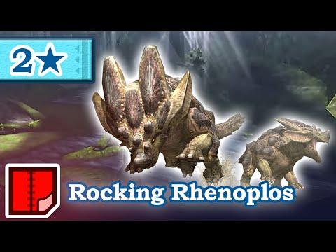 Let's Play Monster Hunter Generations - #42 - 2★ Rocking Rhenoplos