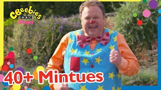 Mr Tumble's Wiggly Worm Song and MORE!    CBeebies   40+ Minutes Compilation