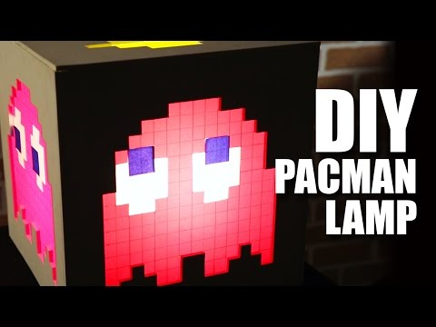 How to make a DIY Pacman Lamp