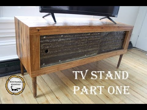 Woodworking :  Reclaimed Wood TV Stand // How-To Part One